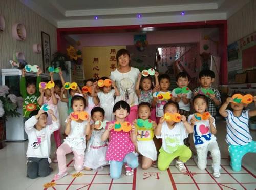 旺仔幼儿园举办庆中秋主题活动
